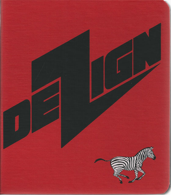 DEZIGN binder cover